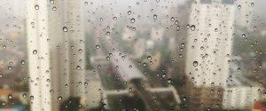 Drops of Water on Window